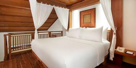 Familjerum i etage på hotell Melia Bali på Bali, Indonesien.