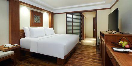 Dubbelrum på hotell Melia Bali på Bali, Indonesien.