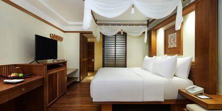 Deluxerum på hotell Melia Bali på Bali, Indonesien.
