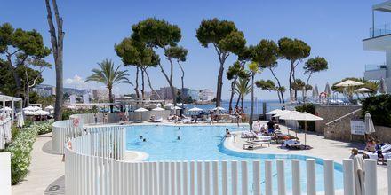 Pool på hotell Melia Calvia Beach, Mallorca.