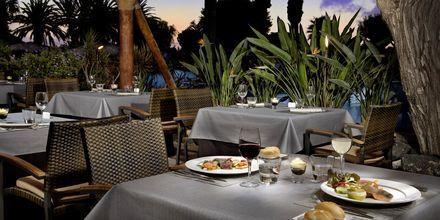 Bufférestaurangen på hotell Melia Fuerteventura, Playa Barca, Fuerteventura.