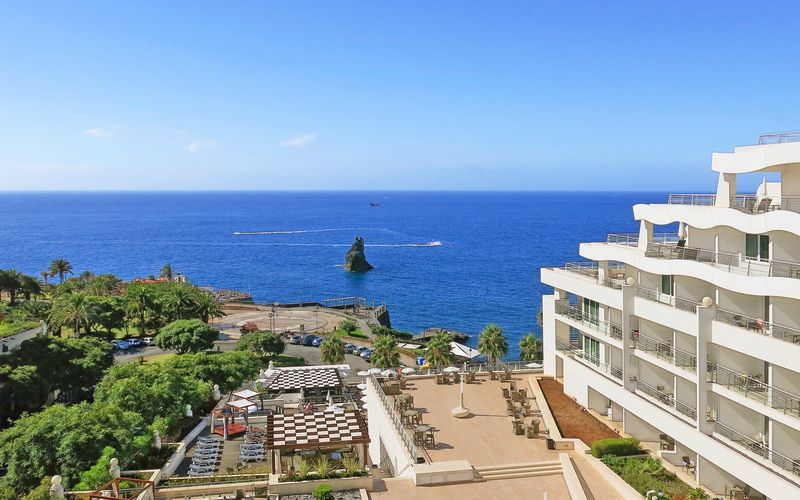 Hotell Melia Madeira Mare i Funchal på Madeira, Portugal.