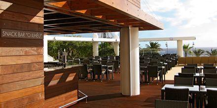 Snackbar på hotell Melia Madeira Mare på Madeira, Portugal.