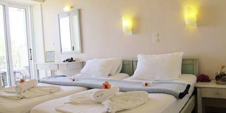 Trerumslägenhet på hotell Melina Beach på Kreta, Grekland.