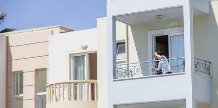 Hotell Melina Beach i Platanias på Kreta, Grekland.