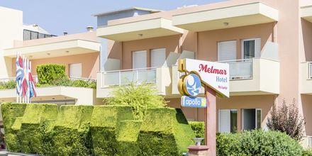 Hotell Melmar i Rethymnon stad på Kreta, Grekland.