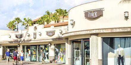 Shopping i Meloneras på Gran Canaria, Spanien.