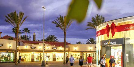 Shopping Meloneras på Gran Canaria, Spanien.