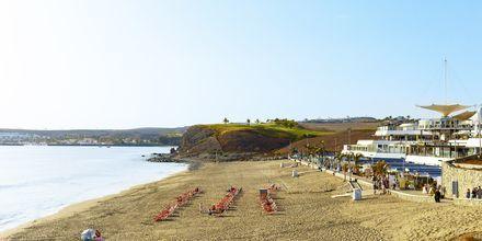 Stranden i Meloneras på Gran Canaria, Spanien.