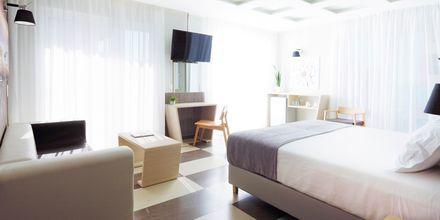 Juniorsvit på hotell Melrose i Rethymnon stad på Kreta, Grekland.