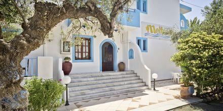 Meltemi på Karpathos Grekland.