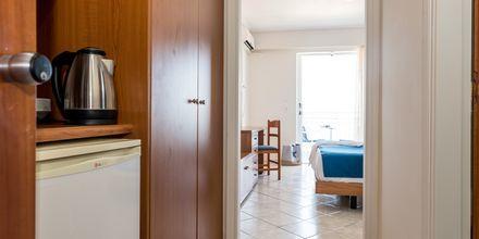 Enrumslägenhet på hotell Meridien Beach på Zakynthos, Grekland.