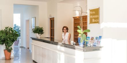 Lobby på hotell Meridien Beach på Zakynthos, Grekland.