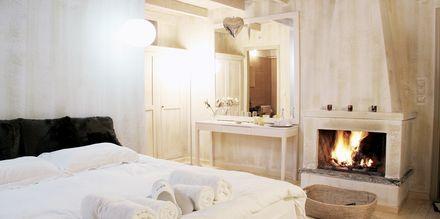 Dubbelrum på Mikro Papigo 1700 Hotel & Spa i Zagoria, Grekland.