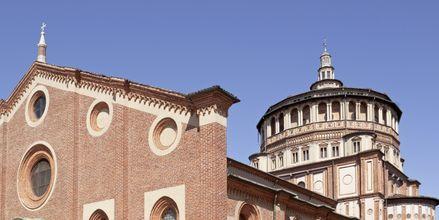 Santa Maria delle Grazie i Milano, Italien.