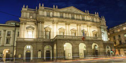 La Scala i Milano, Italien.
