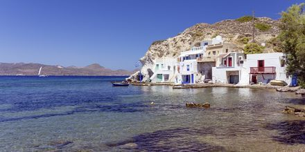 Skinopi på Milos i Grekland.