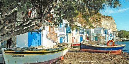 Klima på Milos, Grekland.