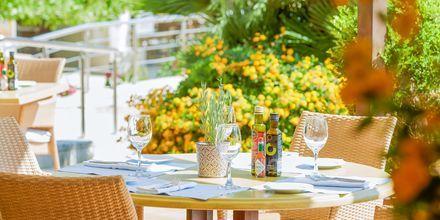 Den italienska restaurangen Ta Nissia på hotell Minoa Palace resort & Spa i Platanias på Kreta, Grekland.