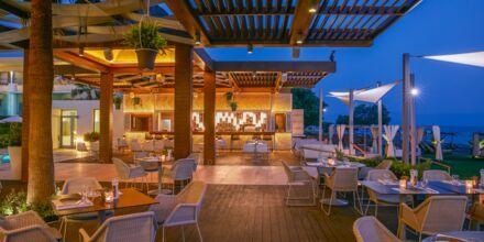 Restaurang Thalassa på hotell Minoa Palace resort & Spa i Platanias på Kreta, Grekland.