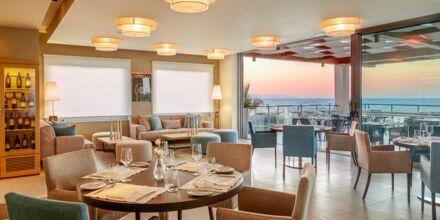 Restaurang Galazio på hotell Minoa Palace resort & Spa i Platanias på Kreta, Grekland.