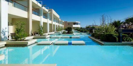 Imperialbyggnaden på hotell Minoa Palace Resort & Spa i Platanias på Kreta, Grekland.