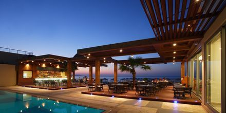 Restaurang Corali på hotell Minoa Palace resort & Spa i Platanias på Kreta, Grekland.