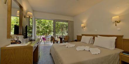 Dubbelrum på hotell Minos i Rethymnon, Kreta.