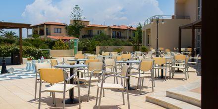 Snackbar på hotell Minos Mare i Rethymnon på Kreta.