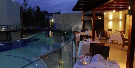 Restaurang Veranda på Minos Mare Royal.