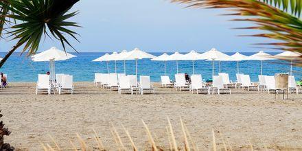 Stranden vid Minos Mare Royal.