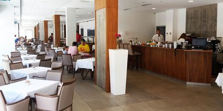 Restaurangen på hotell Miramare i Makarska, Kroatien.