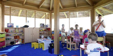 Barnklubb på Laguna Resort & Spa i Anissaras på Kreta, Grekland.