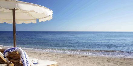 Stranden vid Laguna Resort & Spa i Anissaras, Kreta.