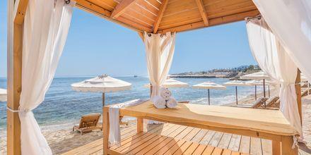 Spa på stranden vid hotell Laguna Resort & Spa i Anissaras.