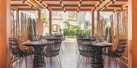 Restaurangen på hotell Laguna Resort & Spa i Anissaras.