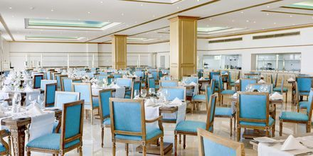 Bufférestaurangen på hotell Laguna Resort & Spa i Anissaras.