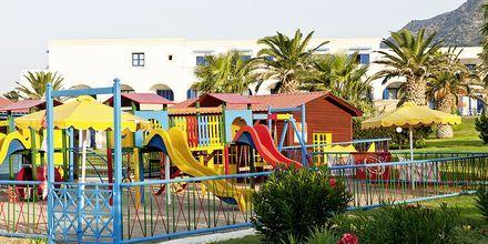 Lekplatsen på hotell Mitsis Norida Beach Hotel på Kos, Grekland.