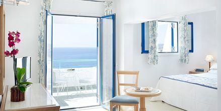 Familjerum på hotell Mitsis Norida Beach Hotel på Kos, Grekland.