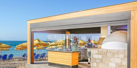 Pizzarestaurang på hotell Mitsis Norida Beach Hotel i Kardamena på Kos, Grekland.