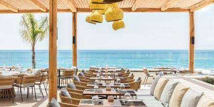 Temarestaurangen på hotell Mitsis Norida Beach Hotel i Kardamena på Kos, Grekland.
