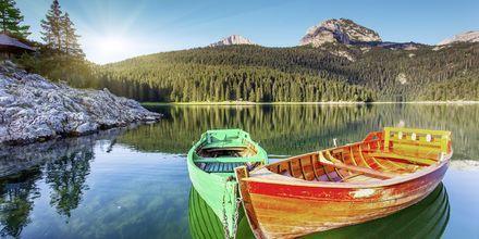 Black Lake i Durmitor nationalpark, Montenegro.