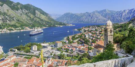Den Unescoskyddade staden Kotor, Montenegro.