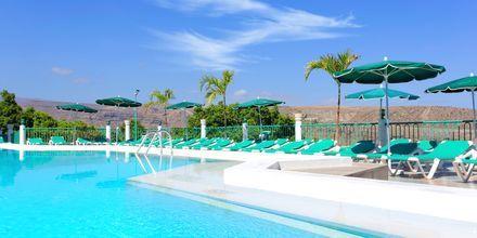 Poolområde på hotell Monteparaiso i Puerto Rico, Gran Canaria.