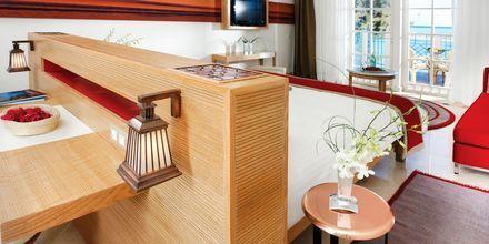 Deluxerum/superiorrum på hotell Mövenpick Resort & Spa i El Gouna, Egypten.
