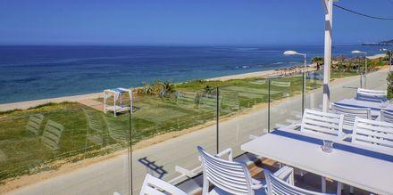 Utsikt från hotell Must i Kanali, Grekland.