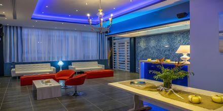 Lobbyn på hotell Must i Kanali, Grekland.