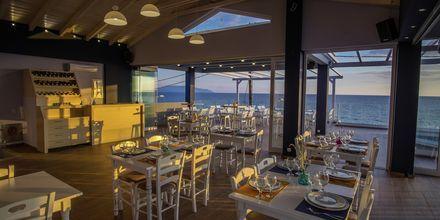 Restaurangen på hotell Must i Kanali, Grekland.