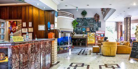 Lobby på hotell My Home i Alanya, Turkiet.