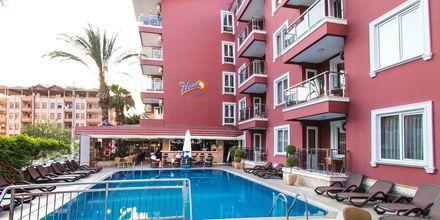 Poolen på hotell My Home i Alanya, Turkiet.